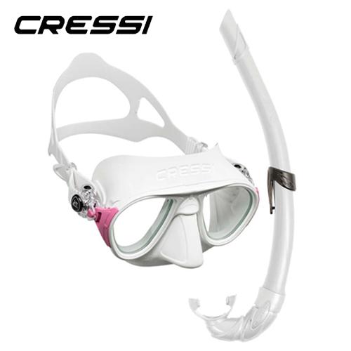 Cressi Kit Calibro And Corsica White