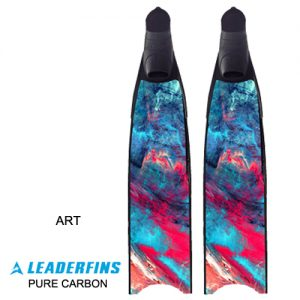 Leaderfins Art Pure Carbon